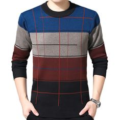 ZOEQO High Quality Casual Sweater Men men sweater winter round neck knitted sweaters slim Knitwear Sweaters pull homme Review Casual Sweaters, Winter Sweaters, Blue Sweaters, Sweaters For Women, Men Sweater, Gents T Shirts, Mens Tee Shirts, Cool Hoodies For Guys, Buy T Shirts Online
