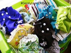 Our #GentlyUsedDiapers in our Showroom!  You can purchase most of these here: http://www.naturebumz.com/gently-used-cloth-diapers.html