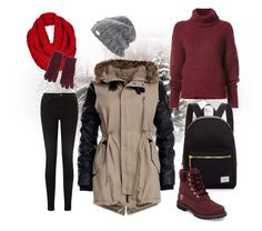 Untitled #7 by ea40616 on Polyvore featuring polyvore fashion style BY. Bonnie Young Pieces Timberland Herschel Supply Co. clothing