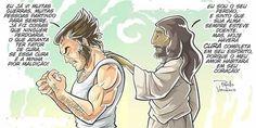 Jesus Art, Jesus Christ, Mundo Marvel, Cute Phrases, Connecting With God, Jesus Culture, Jesus Lives, Christian Memes, Jesus Freak