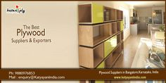 We are Manufacturers of #Gurjan #Plywood in Bangalore, #Plywood #Retailers in #Bangalore, Plywood #Exporters in bangalore, #Karnataka, #India