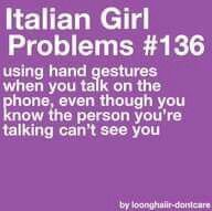 Italian isn't my first language, but I do this when I'm speaking Italian over the phone