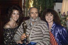 Henry Fonda and Jane Fonda Jane Fonda, Henry Fonda, Academy Award Winners, Oscar Winners, Academy Awards, Lloyd Bridges, Best Actor Oscar, On Golden Pond, Home