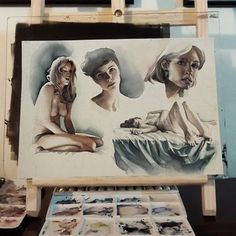 Amazing Watercolor III by Marcos Beccari