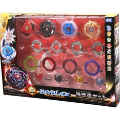 Takara Tomy Beyblade Burst B-98 God Customize Set 4 Layer Disk Frame Driver #TakaraTomy