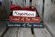American Land of the Free Because of the Brave