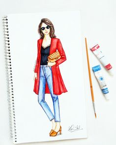 #fashion #illustration #sketch #art