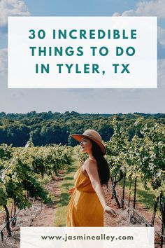 Trying to figure out things to do in Tyler Texas? Listing both attractions and restaurants, this list of 30 things is essential for getting the most out of your visit to Tyler. Youll find both main attractions and creative things to do. From the flowers in the Rose Garden to a great view that cant be missed, youll discover them here! I recently updated this list from 12 to 30 things to do based on new recommendations from Tyler natives! #Tyler #TylerTexas #Texas #texastravel