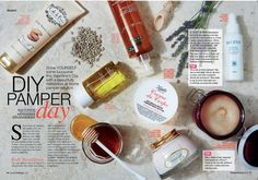 Fab feature in the February 2016 issue of Fairlady! Pamper Days, Candle Jars, Candles, Valentine's Day Diy, Valentines Day, February 2016, Zen, Candle Mason Jars, Valantine Day