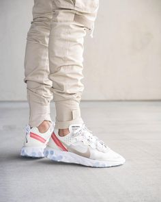 Nike React Element 87 – Shoes World Nike Outfits, Sneaker Outfits, Easy Outfits, Nike Fashion, Sneakers Fashion, Fashion Shoes, Mens Fashion, Sneakers Mode, Best Sneakers
