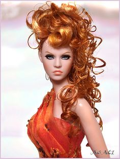 Agaci as a red head | Flickr - Photo Sharing!
