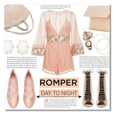 """Day to Night: Rompers"" by dolly-valkyrie ❤ liked on Polyvore featuring Alice McCall, Kendall + Kylie, Iala Díez, Kendra Scott, DayToNight and romper"