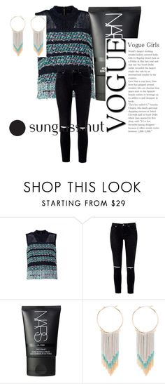 """""""Shades of you.💛"""" by rabiaheart-13 ❤ liked on Polyvore featuring Coohem, NARS Cosmetics and Bebe"""