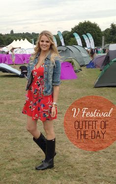 V Festival Outfit #fashion #festival #topshopdress