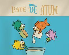 RECEITA-ILUSTRADA 154: Patê de atum - http://www.mixidao.com.br/receita-ilustrada-154-pate-de-atum/