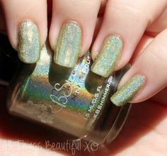 KBShimmer Ins and Sprouts Nail Polish - more swatches from this collection on All Things Beautiful XO