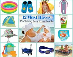 12 Essentials for a Relaxing Beach Vacation With Baby. Camping Tips And Hacks For Families Beach Fun, Beach Babe, Beach Trip, Free Beach, Baby Beach, Beach Vacations, Beach Travel, Beach Essentials, Travel Essentials