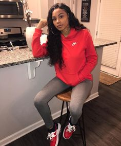 cute and comfy outfits Nike Outfits, Fall Outfits, Casual Outfits, Urban Fashion, Teen Fashion, Fashion Outfits, Winter Fits, Fashion Killa, Swagg