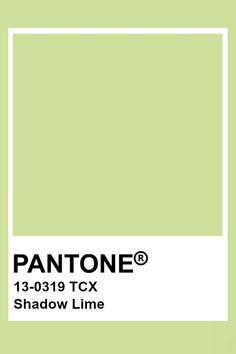 Pantone Shadow Lime Pantone Swatches, Color Swatches, Pantone Tcx, Pantone Colour Palettes, Pantone Color, Lime Green Paints, Pantone Green, Color Magic, Colour Schemes