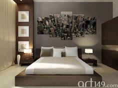 Oryginalne obrazy to nasza specjalność. Panorama Nowego Jorku w wyjątkowej ozdobie na ścianie.