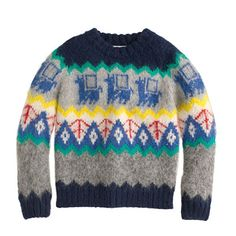 J.Crew - Kids' Industry of All Nations™ hand-knit alpaca sweater