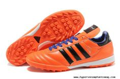 2014 Brazil World Cup Adidas Copa Mundial TF Soccer Shoes Orange Blue Soccer Cleats