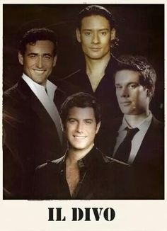 1000 images about il divo on pinterest dimples singers - Il divo music ...