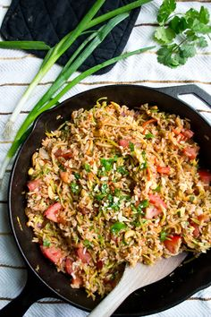 If you've ever had fried rice at a Thai restaurant, you know that Thai fried rice has such unique flavor that really sets it apart. I took the basic flavor concepts of traditional Thai rice (along with inspiration from a recipe in a favorite cookbook) to make this healthy, hearty recipe. This dinner can be whipped up in an hour (or 20 minutes if you are using leftover rice, which I recommend!) and is bursting with flavor and texture.  It's essentially the same process as making regular fried…