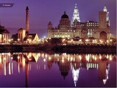 """See 1168 photos from 15979 visitors about beatles, albert dock, and cavern club. """"Beautiful city by the shore. Liverpool Skyline, Liverpool Town, Liverpool Docks, Liverpool England, Oh The Places You'll Go, Places To Travel, Places Ive Been, Places To Visit, Travel Destinations"""