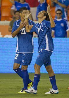 Rafael Edgardo Burgos and Nelson Wilfredo Bonilla Sanchez Photo - New Zealand v El Salvador