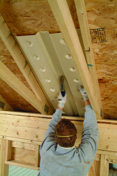 How to install radiant barrier on attic rafters in 5 steps radiant barrier attic and insulation - Attic thermal insulation ...