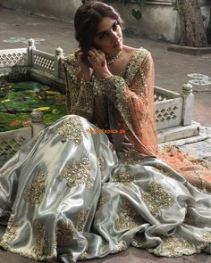 56 Trendy ideas for wedding indian dress color combinations pakistani bridal Pakistani Wedding Outfits, Pakistani Wedding Dresses, Pakistani Dress Design, Bridal Outfits, Indian Dresses, Indian Outfits, Pakistani Couture, Covet Fashion, Indian Designer Wear