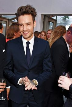"thedailypayne: ""Liam attends the Glamour Women of the Year Awards - 7/6 """