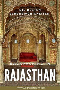 Planst du Backpacking in Rajasthan? Der indische Bundesstaat ist mit seinen Palästen, Wüsten und traditionellen Städten eine der schönsten Gegenden des Landes - und auf Grund einer guten Infrastruktur für Reisende auch hervorragend geeignet für Indien-Einstieger. Die besten Sehenswürdigkeiten von Rajasthan verrate ich dir in diesem Artikel. #indien #rajasthan #backpacking