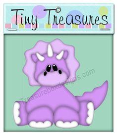 Tiny Treasures (Dino)