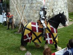 medieval jousts in Loire Valley