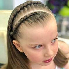 Más de las bellas y sencillas #trenzas y #peinados en #colorin #peluqueria #cucuta #peinadoscolorin #tranças #trança #tranca #trancas #girls #niñas #braids #braid #hairstyle #zöpfe Princess Hairstyles, Little Girl Hairstyles, Cute Hairstyles, Braided Hairstyles, Gymnastics Hair, Natural Hair Styles, Short Hair Styles, Braids For Kids, Hair Game