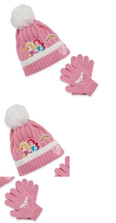 99693d7d5b5 Hats 15630  Disney Princess Girls Winter Hat Gloves Beanie Set Mittens Kids  Children Toddler -  BUY IT NOW ONLY   12.99 on  eBay  disney  princess   girls ...