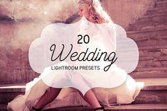 20 Wedding Lightroom Presets by PixelladyArt on Etsy