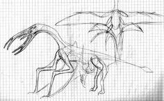 some random aerial creature by palaeorigamipete.deviantart.com on @DeviantArt