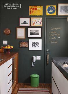 blackboard wall | parede de lousa #decor #lousa
