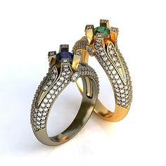 #stl #3dmodel #3d #3dprint #3dprinting #jewel #jewels #jeweler #jewelry #jewellery #jewelrydesign #fashionjewelry #rings #earrings #pendant by belov.andrey