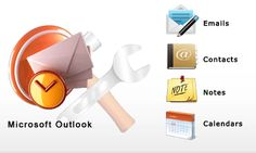 Users can repair Outlook PST Files either by using ScanPST.exe tool or by third party automatic outlook PST repair tool.