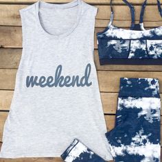weekend muscle tank
