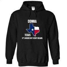 Donna Its Where My Story Begins Special Tees 2014 - #softball shirt #mens tee. SIMILAR ITEMS => https://www.sunfrog.com/States/Donna-Its-Where-My-Story-Begins-Special-Tees-2014-9816-Black-6922577-Hoodie.html?68278