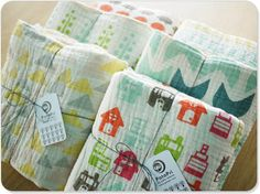 Swaddle Blankets, cute designs