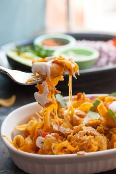 Pulled Chicken Frito