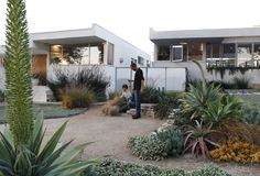 Rudolph Schindler 1940 Inglewood, California residence.  Recently renovated by architect Steven Ehrlich.