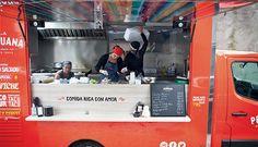 A invasão dos food trucks