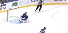 Bishop's adorable reaction to his shootout save against Alfredsson [x]